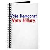 VOTE HILLARY Journal