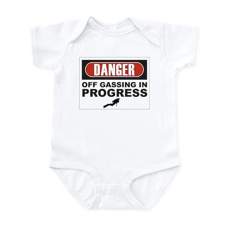 Danger Off Gassing Infant Bodysuit