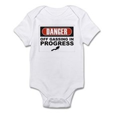 Danger Off Gassing Infant Bodysuit
