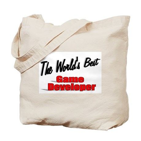 """The World's Best Game Developer"" Tote Bag"