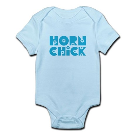 Horn Chick Infant Bodysuit