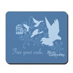 Free your code Mousepad