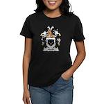 Morter Family Crest Women's Dark T-Shirt