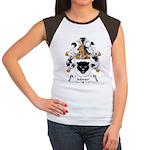 Morter Family Crest Women's Cap Sleeve T-Shirt