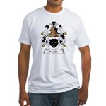 Morter Family Crest Fitted T-Shirt