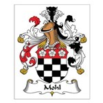 Mohl Family Crest Small Poster
