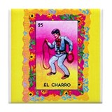 Mexican Cowboy Tile Coaster