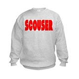 Scouser Red Letters Sweatshirt