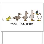 WTD: Evolution Yard Sign