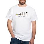 WTD: Evolution White T-Shirt