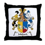 Misbach Family Crest Throw Pillow