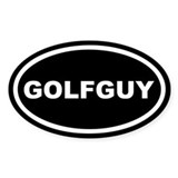 Golfguy Euro Oval Decal