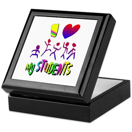 I Love My Students Keepsake Box