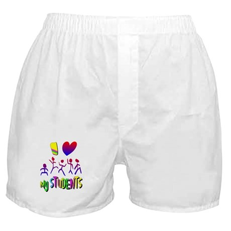 I Love My Students Boxer Shorts