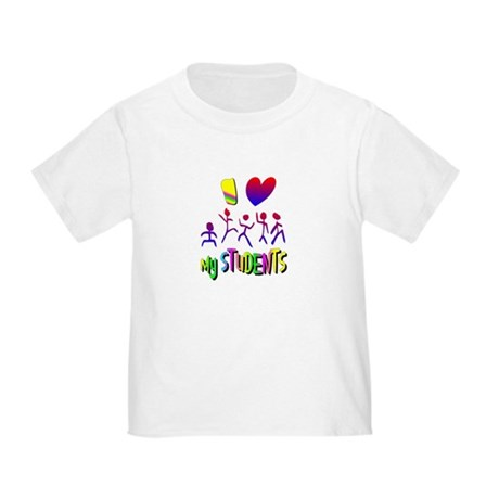 I Love My Students Toddler T-Shirt