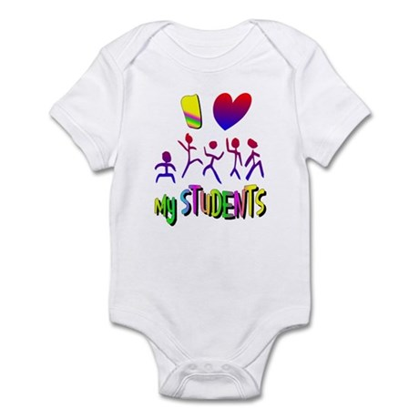 I Love My Students Infant Bodysuit