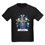 Mensch Family Crest Kids Dark T-Shirt