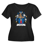 Mensch Family Crest Women's Plus Size Scoop Neck D