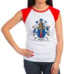 Mensch Family Crest Women's Cap Sleeve T-Shirt