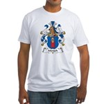 Mensch Family Crest Fitted T-Shirt