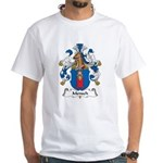 Mensch Family Crest White T-Shirt