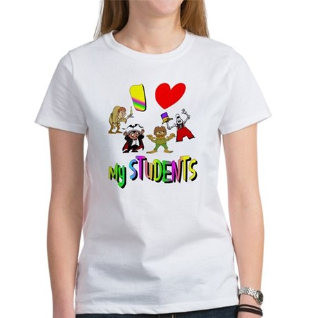 I Love My Students Women's T-Shirt