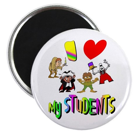 "I Love My Students 2.25"" Magnet (10 pack)"