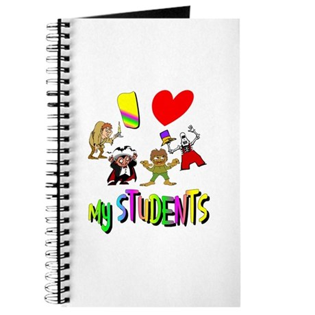 I Love My Students Journal