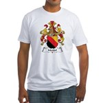 Mendel Family Crest Fitted T-Shirt