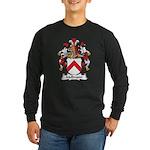 Mellmann Family Crest Long Sleeve Dark T-Shirt