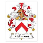 Mellmann Family Crest Small Poster