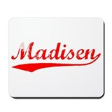 Vintage Madisen (Red) Mousepad