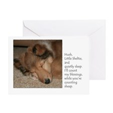 Count Sheep Puppy Card