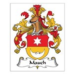 Mauch Family Crest Small Poster