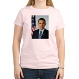 Official President Barack Obama Photo T-Shirt
