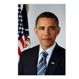 Official President Barack Obama Photo Postcards (P