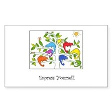 Colorful Inspiration Rectangle Decal