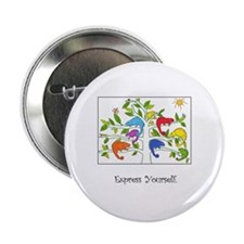 "Colorful Inspiration 2.25"" Button"