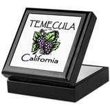 Temecula Grapes Keepsake Box