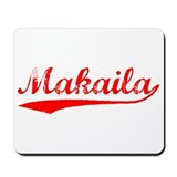 Vintage Makaila (Red) Mousepad