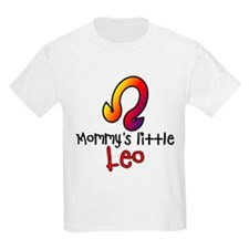 Mommy's Little Leo Kids Light T-Shirt