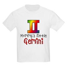 Mommy's Little Gemini Kids Light T-Shirt