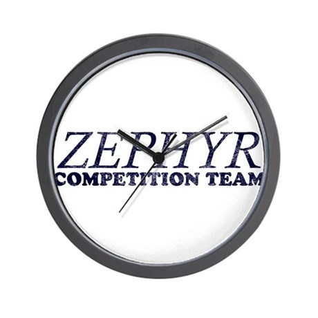 ZEPHYR COMPETITION TEAM Wall Clock