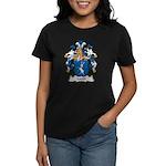Lerch Family Crest Women's Dark T-Shirt