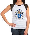 Lerch Family Crest Women's Cap Sleeve T-Shirt
