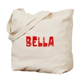 Bella Faded (Red) Tote Bag