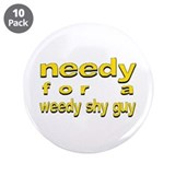 "Bret - 3.5"" Button (10 pack)"