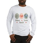 Peace Love Earth Long Sleeve T-Shirt