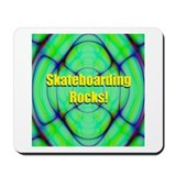 Skateboarding Rocks! Mousepad