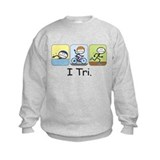 Triathlon Stick Figure Jumpers